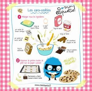 Recette De Gateau Pour Enfant : recette cara cookies illustration recette cookies recette et recettes de cuisine ~ Melissatoandfro.com Idées de Décoration