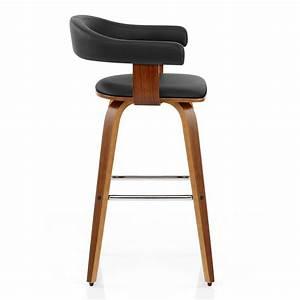 Chaise De Bar : chaise de bar faux cuir bois ontario monde du tabouret ~ Farleysfitness.com Idées de Décoration