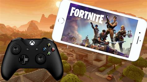play fortnite mobile royale  controller youtube