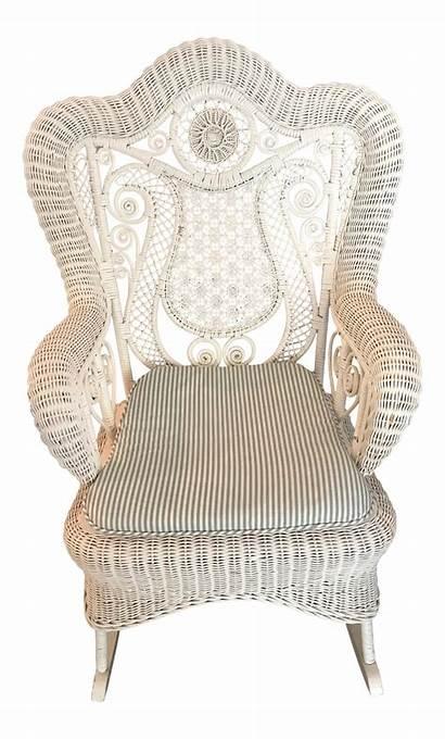 Wicker Rocker Chairish
