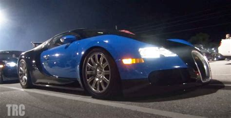 New Video Of A Bugatti Veyron Running The Quarter Mile In
