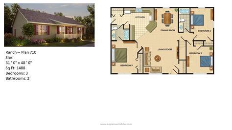 modular home ranch plan 710 2