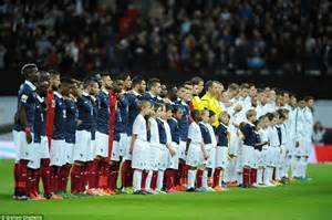 English French Supporters Join Together Sing