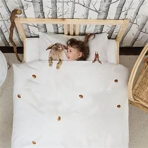 Housse Couette Enfant : housse de couette enfant 100 coton avec animaux taille 1 personne ~ Teatrodelosmanantiales.com Idées de Décoration