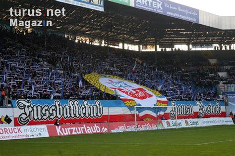 Previous match both teams match ended: Foto: Südtribüne: Hansa Rostock vs. Dynamo Dresden ...