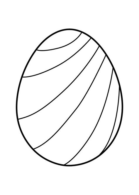 Coloring Egg by Easter Eggs Coloring Pages Coloringpagesonly
