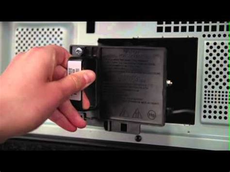 how to replace the l in a tv how to replace the l in your mitsubishi tv youtube