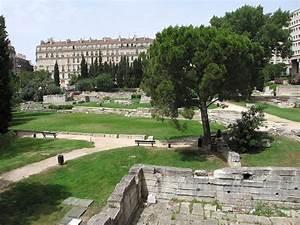 jardin des vestiges wikipedia With plan de bassin de jardin 5 centre commercial