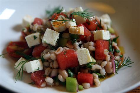 greek watermelon barley salad recipe nyt cooking