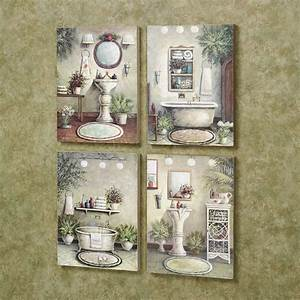 Brilliant 30 rustic bath decorating ideas inspiration of for Wall plaques for bathroom