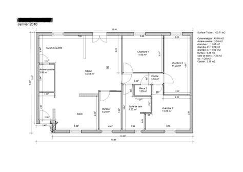 plan de maison gratuit 3 chambres les meilleurs plans de maison
