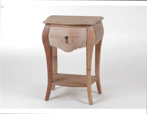 table bois table de chevet en bois a peindre