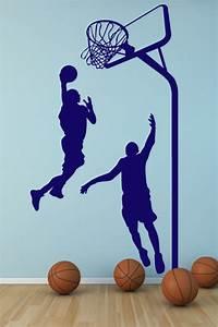 Wall decals basketball walltatcom art without boundaries for Basketball wall decals