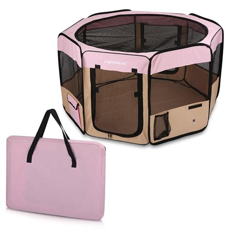 playpen for l portable puppy pet cat playpen crate cage kennel