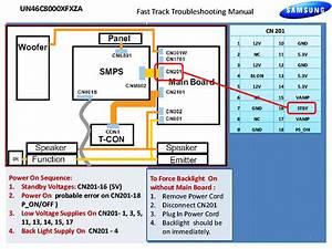 Samsung Un46c8000xfxza Fast Track Guide Service Manual