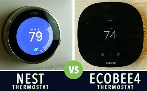 install a new ecobee4 smart thermostat in your home for its lowest price app co