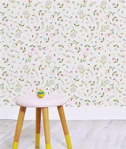 ophreycom chambre petite fille papier peint With chambre bébé design avec le champ des fleurs avis