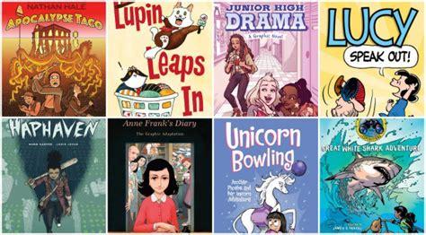 graphic novels spring  imagination soup