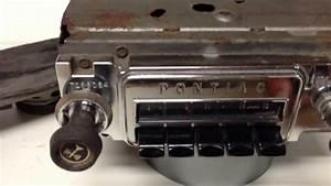 1966 Pontiac Gto  Lemans  U0026 Tempest Am Radio