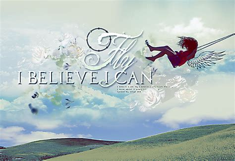 I Believe I Can Fly By Saro-sah On Deviantart