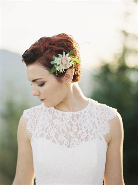 Pixie Hairstyles For Wedding by Pacific Northwest Wedding Inspiration At Rattlesnake Ledge