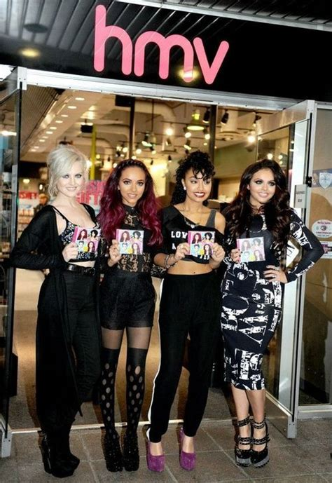 LM at HMV launching their single | Little mix, Litte mix ...