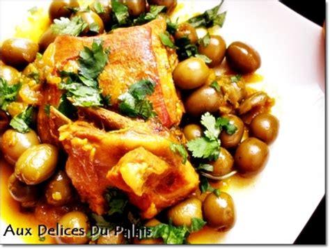 plat cuisiné facile recette plat algérien d 39 agneau aux olives vertes tajine