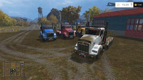 Llight Farms Ls by Kenworth T800 V1 0 Farming Simulator 17 Fs17 Mods