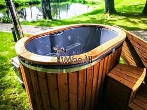 Whirlpool Für Draußen : 2 personen whirlpool f r drau en mit thermoholzverkleidung pinterest badezuber holzofen und ~ Sanjose-hotels-ca.com Haus und Dekorationen