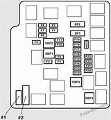 93 Mitsubishi Mirage Fuse Diagram