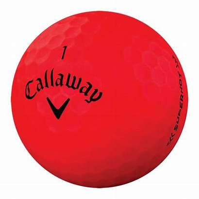 Golf Balls Bold Superhot Callaway Orange Matte