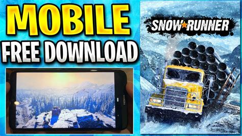 Selecting the correct version will make the snowrunner mobile game work better. SnowRunner Mobile Gameplay How to Download & Play on iOS / Android APK for FREE 2020 - YouTube