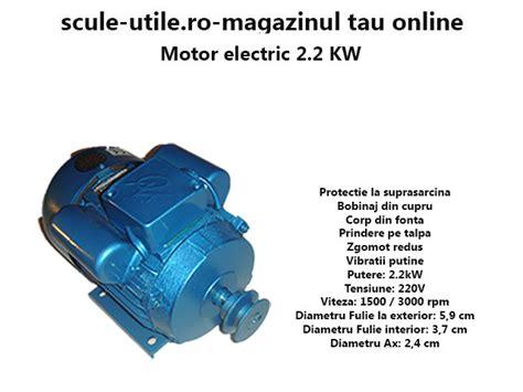 Motor Monofazat 2 2 Kw Pret by Motor Electric 2 2 Kw Scule Utile