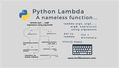 python lambda  anonymous function