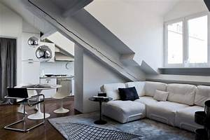 Open, Living, Space, In, The, Attic