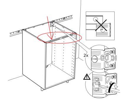 montage cuisine ikea metod fixer plan de travail sur meuble 2 montage de notre