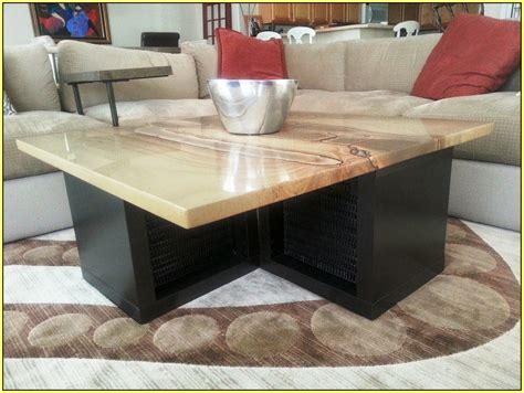 Diy Granite Coffee Table  Sorrentos Bistro Home