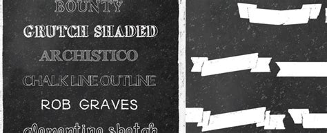 chalkboard fonts  resources