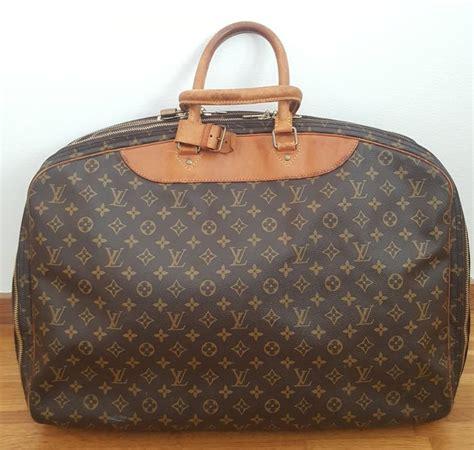 louis vuitton monogram canvas alize  poche soft suitcase catawiki
