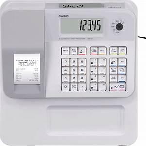 Casio Casio Seg1 White Cash Register Till