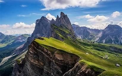 Dolomites Mountains 4k Seceda Italy Desktop Odle