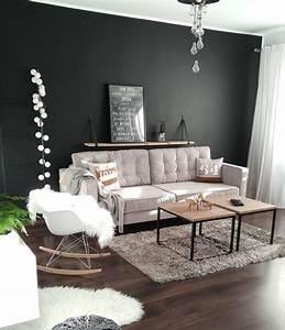 Schwarz Weiß Wohnzimmer : led lichterkette lampion in 2019 wohnzimmer wohnzimmer wohnzimmer schwarz weiss sofa wei ~ Orissabook.com Haus und Dekorationen