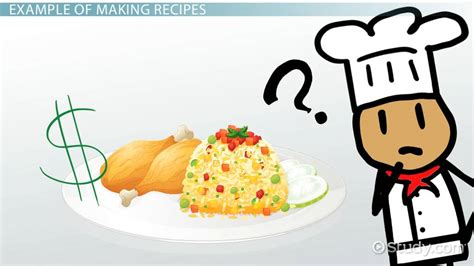 calculate food cost   recipe video lesson