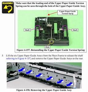 Epson R1900  R2880 Paper Guide Upper Assy