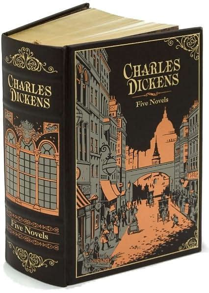 barnes and noble hardcover classics charles dickens five novels barnes noble collectible