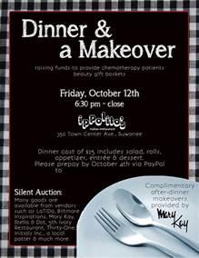 Dinner Fundraiser Flyer Templates