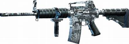 Camo Rifle Rifles Ar Automatic Sriv Row