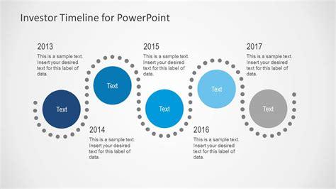 investor timeline   powerpoint slidemodel