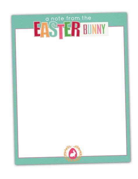 mk designs blog easter bunny stationary