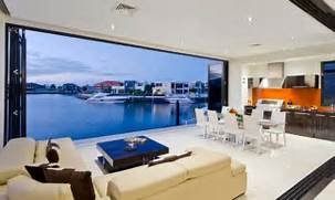 Modern Open Space Natural House Design Innovative Natural Open Landscaping Living Room